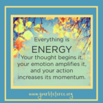 all is energy