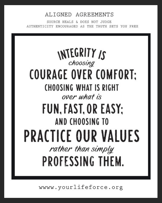 the energy win of integrity