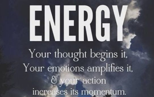 Don't Get The Energy is Everything Vibe? This Article is For You.
