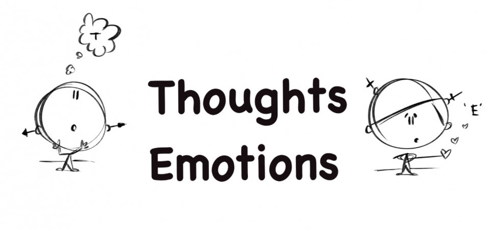 The thoughts and emotions train while understanding your identity