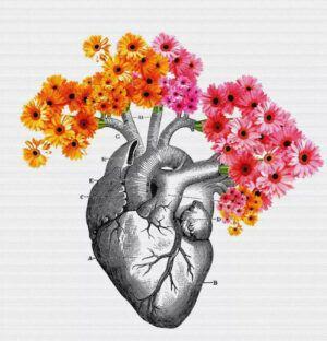 Human heart intelligence blooms