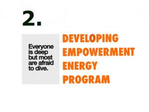 Developing empowerment energy program