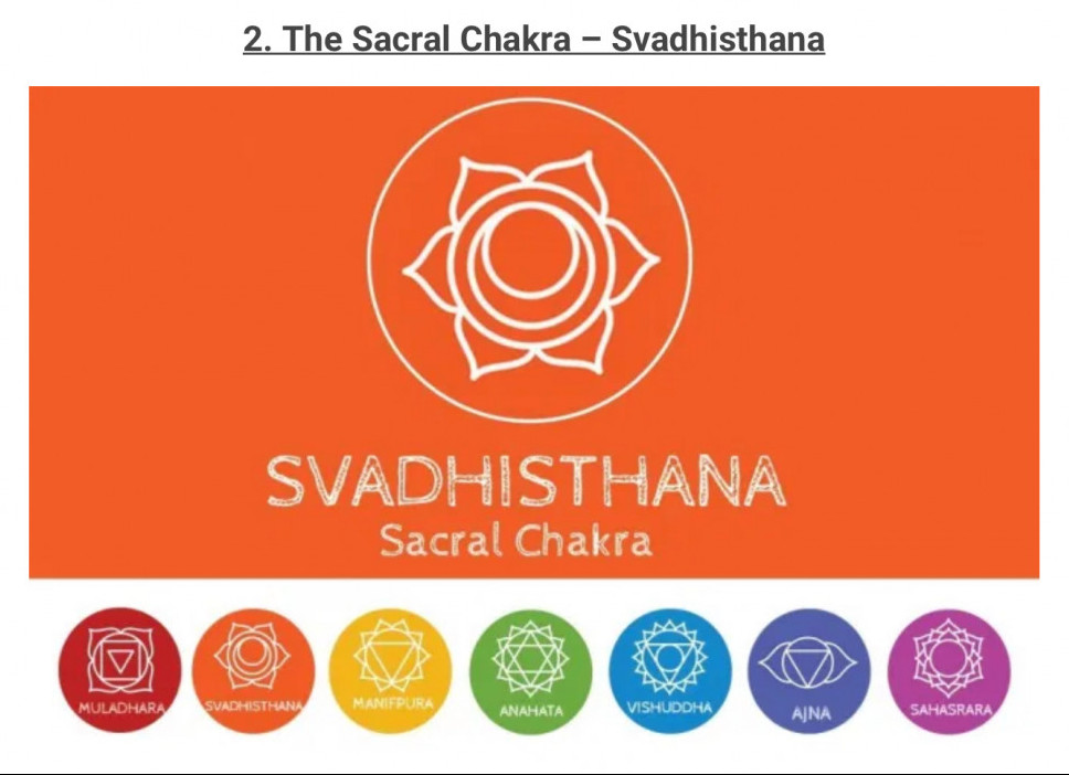 Healing the energy of the sacral chakra