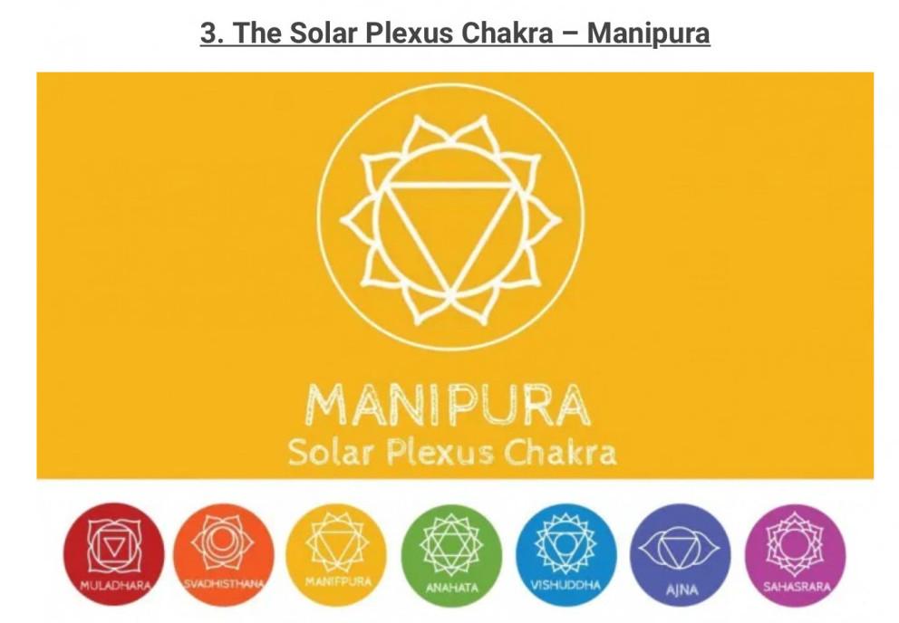 Solar sunshine chakra