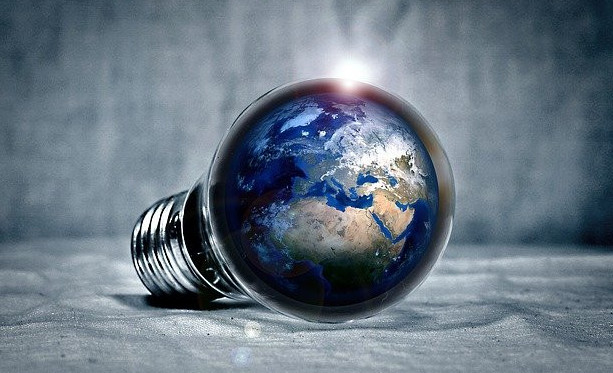 The energy of the world magnified