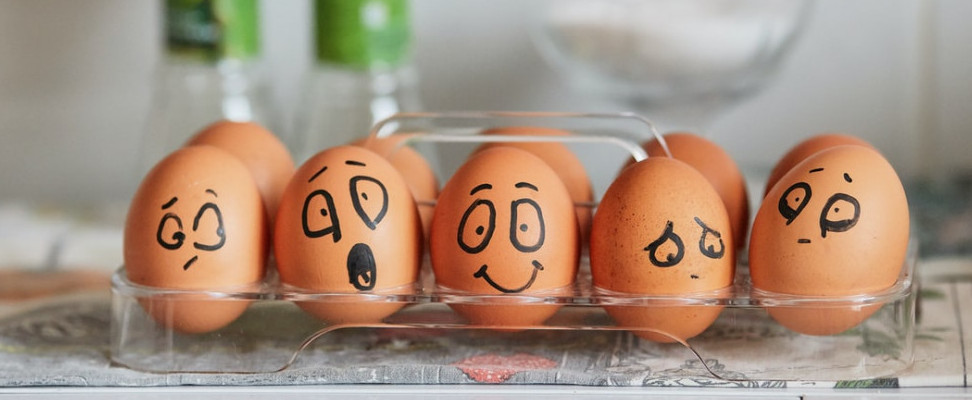 The physiology of emotion and eggs
